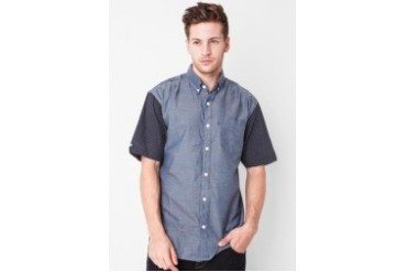 Raxzel Salt Indigo Dot SS Shirt