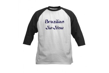 Brazilian Jiu-Jitsu Military Kids Baseball Jersey by CafePress