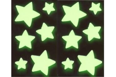 Glow in the Dark Stars (pack of 12 stars)