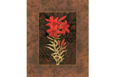 Damask Lily Poster Print by Paul Brent (20 x 24)