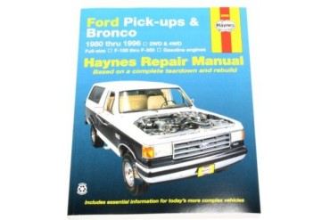 1980-1997 Ford F-250 Manual Haynes Ford Manual 36058 80 81 82 83 84 85 86 87 88 89 90 91 92 93 94 95 96 97