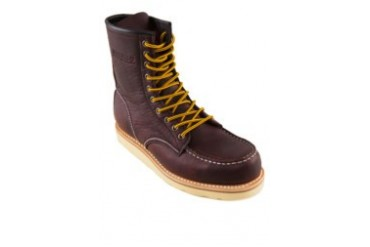 Leather High Cut Stitched Boots