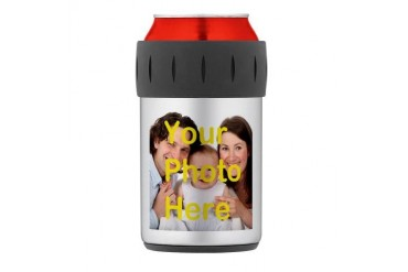 Picture customized Thermos Can Cooler