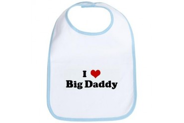 I Love Big Daddy Humor Bib by CafePress