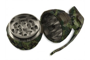 Camo Hand Grenade Herb and Spice Grinder