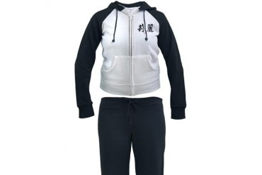 Chinese Name - Lily Kanji Women's Tracksuit by CafePress