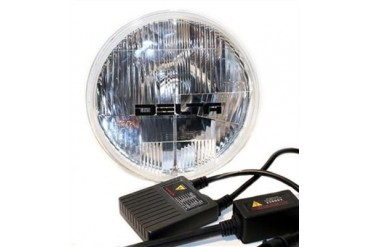 "Delta Industries Delta 1149 Series 7"" Hi/Lo Beam HID System JK w/H13 Adapter 01-1148-HID2 Headlight Replacement"