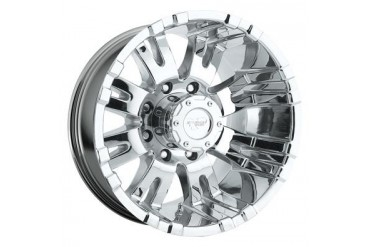Pro Comp Alloy Wheels Series 6001, 16x8 with 8 on 6.5 Bolt Pattern - Chrome 6001-6882-1 Pro Comp Xtreme Alloy Wheels