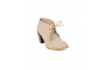 Restricted 'Penny' Lace Up Bootie Taupe, 8