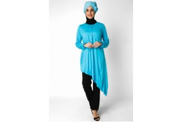 Wulan Moslem Boutique Sky Blouse Muslim