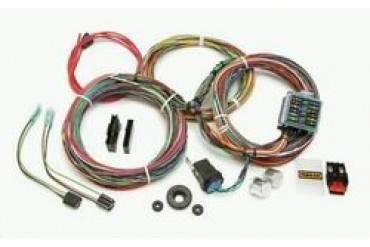 Painless Wiring 12 Circuit Weatherproof Wiring Harness 10143 Chassis Wire Harness