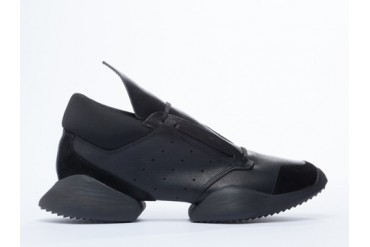 Adidas Originals X Rick Owens Runner in Black Black Bone size 7.0