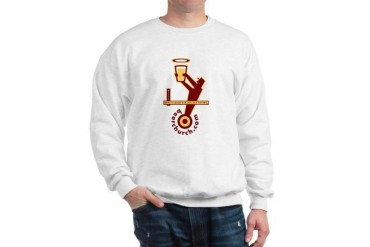 Tap Man Beer Sweatshirt by CafePress