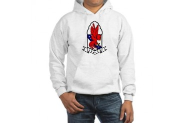 Attack Squadron 22 Military Hooded Sweatshirt by CafePress