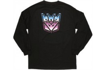 Transformers Decepticon Logo Icon Long Sleeve T-Shirt