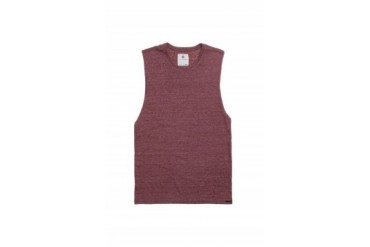 Mens On The Byas Tank Tops - On The Byas Marley Cut Off Tank Top