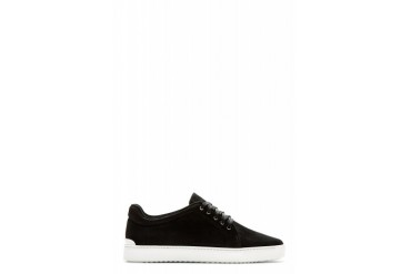 Rag And Bone Black Suede Kent Sneakers