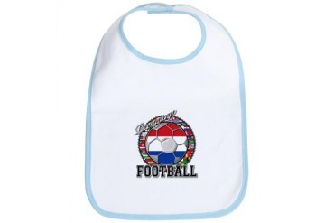 Paraguay Flag World Cup Football Ball with World F Flag Bib by CafePress