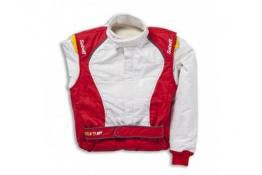 Sabelt Fireproof Racing Suit Series TI-121 Red-White EU 66XXL