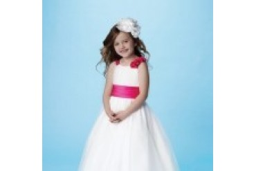 "Alfred Angelo ""In Stock"" Flower Girl Dress - Style 6654"