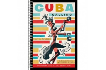 Cuba Calling Vintage Travel Softcover Engagement Calen