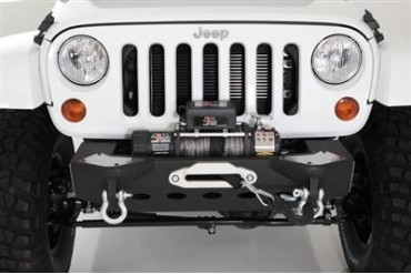 Smittybilt XRC M.O.D. Modular Center Section with Winch Plate and D-ring Mounts 76825 Front Bumpers
