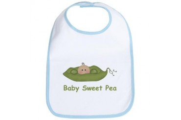 One Baby Sweet Pea Bib