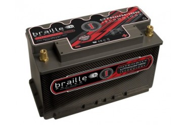 Braille Lithium Ion Intensity Carbon Starting Battery 2520 Amp 11 x 7 x 8 inch Right Positive
