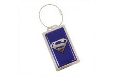DC Comics Superman Logo Metal Luggage Tag