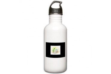 Liar Funny Stainless Water Bottle 1.0L by CafePress