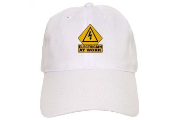 Electrician Bolt Electrician Cap by CafePress