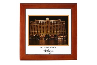 Bellagio Las Vegas 37a Souvenir Box Travel Keepsake Box by CafePress