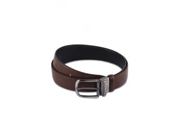 Polo Buckle Leather Belt