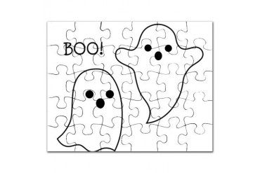 Boo Cute Puzzle by CafePress