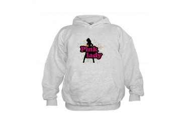 pink lady Sexy Kids Hoodie by CafePress