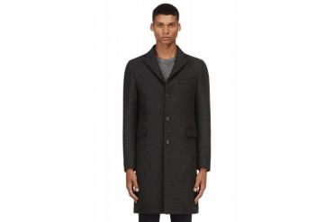 Acne Studios Grey Wool Garret Coat