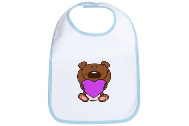 Teddy Bear Kids Bib by CafePress