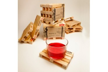 Palette-It: Miniature Pallet drink Coasters set of 5