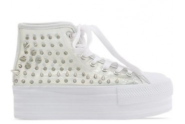 UNIF Koop in Clear Silver size 5.0