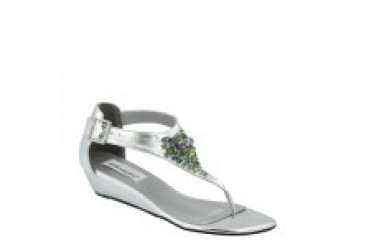 Dyeables Shoes - Style Cleo Silver 29913