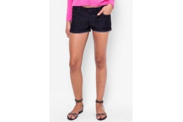Catwalk88 Dark Rinse Denim Shorts