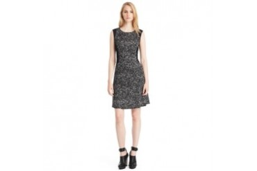 Ines Knit Fit-and-Flare Dress