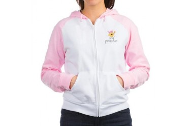 Soy Princess Health Women's Raglan Hoodie by CafePress
