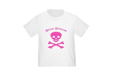 Pirate Princess Toddler T-Shirt