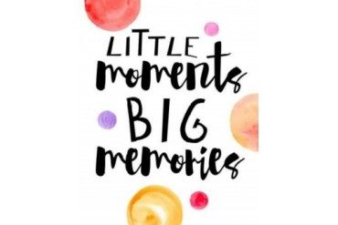 Little Moments Poster Print by Amy Cummings (24 x 30)