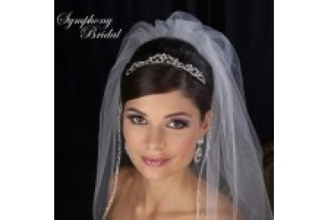 Symphony Bridal Crowns - Style 7446CR
