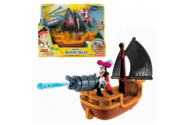 Hook s Battle Boat Disney s Jake amp Never Land Pirates Cannon Captain W5264