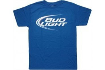 Bud Light Logo Royal Blue T-Shirt