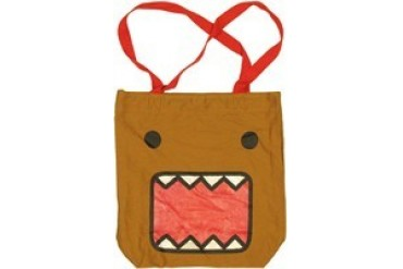 Domo-Kun Face Sparkle Mouth Tote Bag
