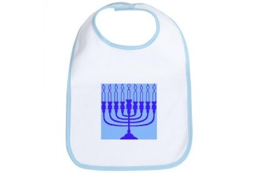 Hanukkah Gifts Jewish Bib by CafePress